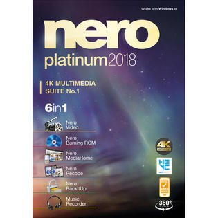 Nero Platinum 2018 4K Multimedia Suite No.1 ()