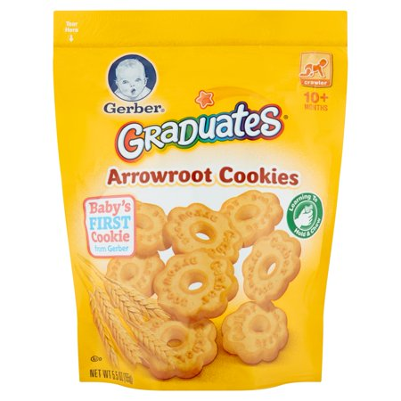 Gerber Graduates Arrowroot Cookies  5 5 Oz