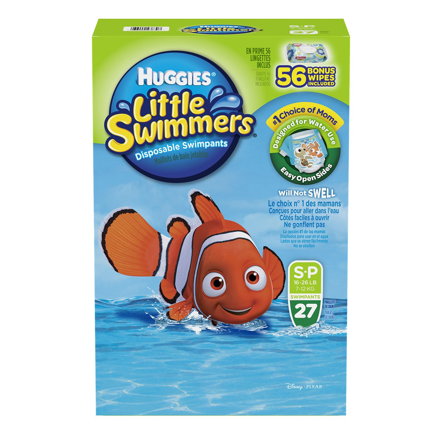 Huggies Little Swimmers Swimpants, 27ct. - Small
