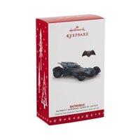 "Hallmark Keepsake 2016 Batman v Superman ""Dawn of Justice Christmas Batmobile"" Holiday Ornament"