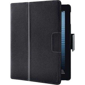 Belkin Business Carrying Case (Folio) for iPad - Leather