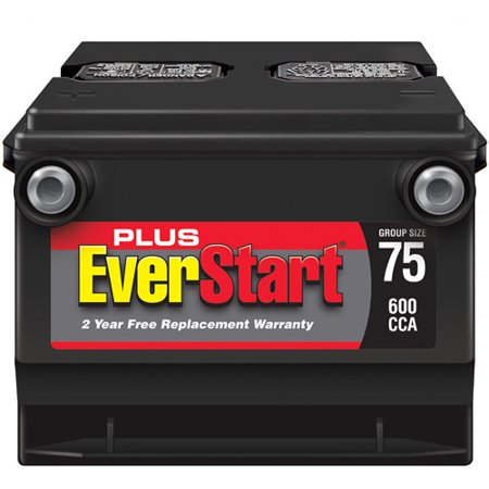 Everstart Plus Lead Acid Automotive Battery Group 75