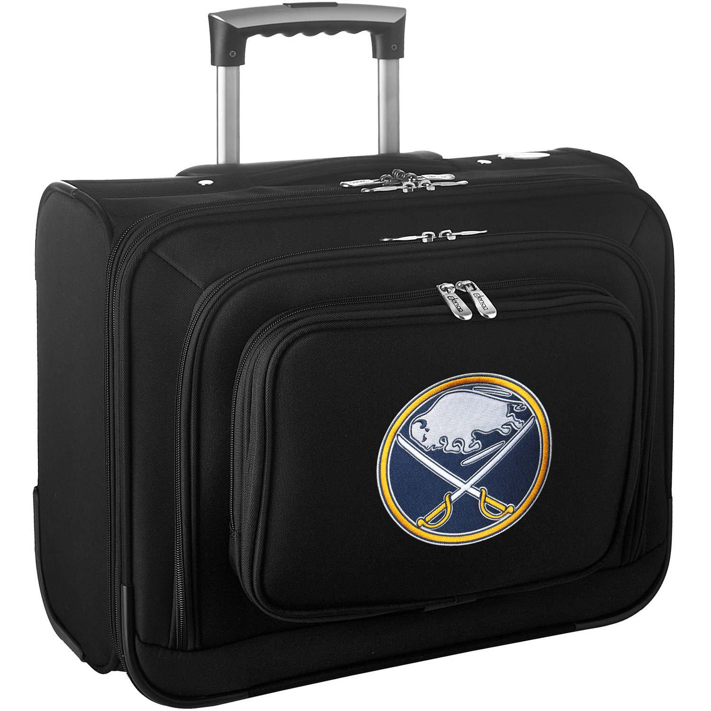 Denco NHL Wheeled Laptop Overnighter, Buffalo Sabres
