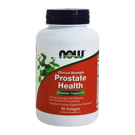 NOW Foods Prostate Health Clinical Strength, 90 Softgels-2 Pack (Now Prostate Support)