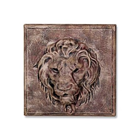 Ladybug Face (Lion Face Plaque in Brick)