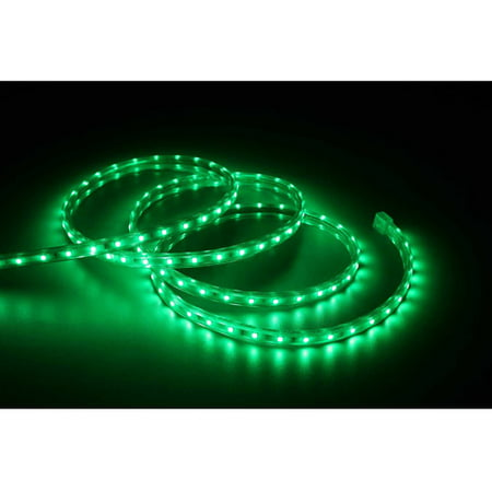 Holiday time 196 led green rope light 240 count walmart holiday time 196 led green rope light 240 count aloadofball Gallery