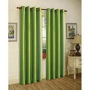 Editex Home Textiles Elaine Window Panel, 58 by 95-Inch, Cinnamon
