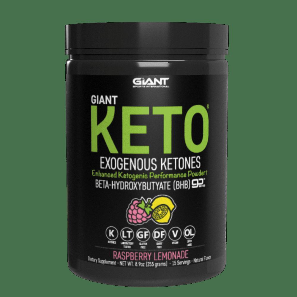 Giant Keto-Exogenous Ketone Supplement, 15 Servings, Raspberry Lemonade
