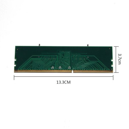 DDR3 Laptop SO-DIMM to Desktop DIMM Memory RAM Connector Adapter 204 to 240 -