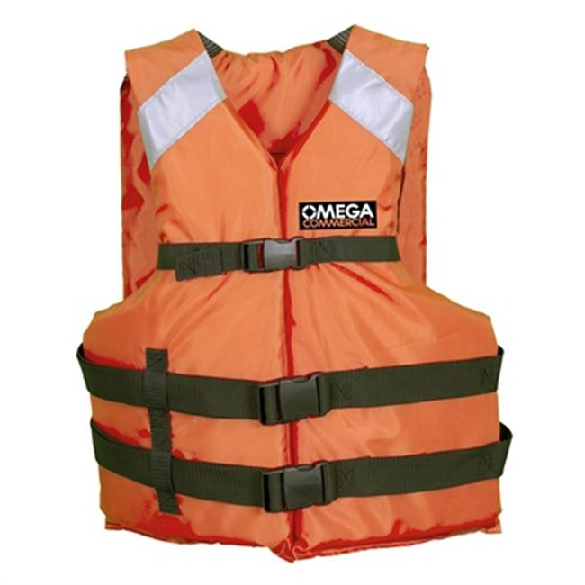 Commercial All Purpose Type III - Orange; Oversize Adult