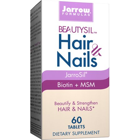 Nails 60 Tablets (Jarrow Formulas BeautySil Hair & Nails, Beautify & Strengthen Hair & Nails, 60 Tablets )