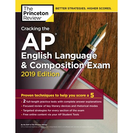 Daily Language Practice Book (Cracking the AP English Language & Composition Exam, 2019 Edition : Practice Tests & Proven Techniques to Help You Score a 5)