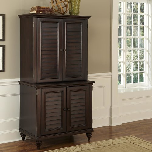 Exceptionnel Home Styles Bermuda Armoire Desk With Compact And Hutch