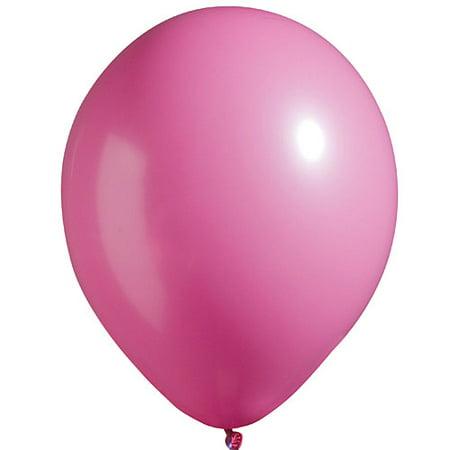 """11"""" Latex Balloons Bright-Tone Hot Pink"""