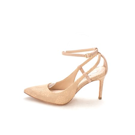 25dae525c6c2 Cole Haan Womens 14A4023 Pointed Toe Ankle Strap Classic Pumps - Walmart.com