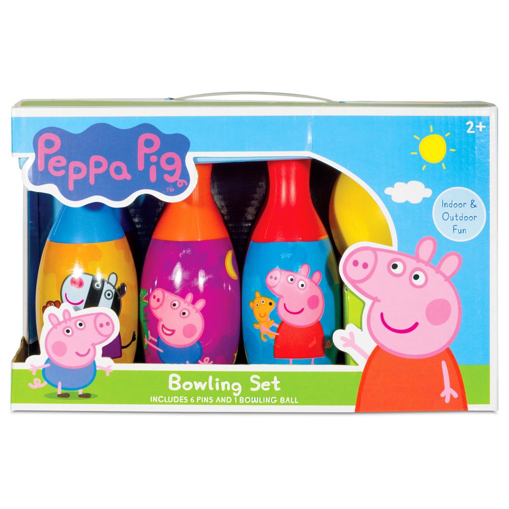 Easter Peppa Pig Bowling