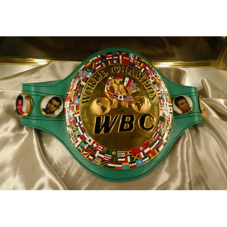 LAMINATED POSTER World Boxing Council Championship Belt Sport History Poster Print 24 x 36 ()