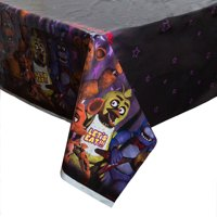 Five Nights at Freddy's Plastic Party Tablecloth, 84 x 54in