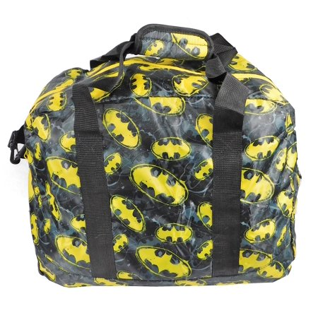 DC Batman Packaway Duffle Bag w/ Carry Pouch](Batman Bag)