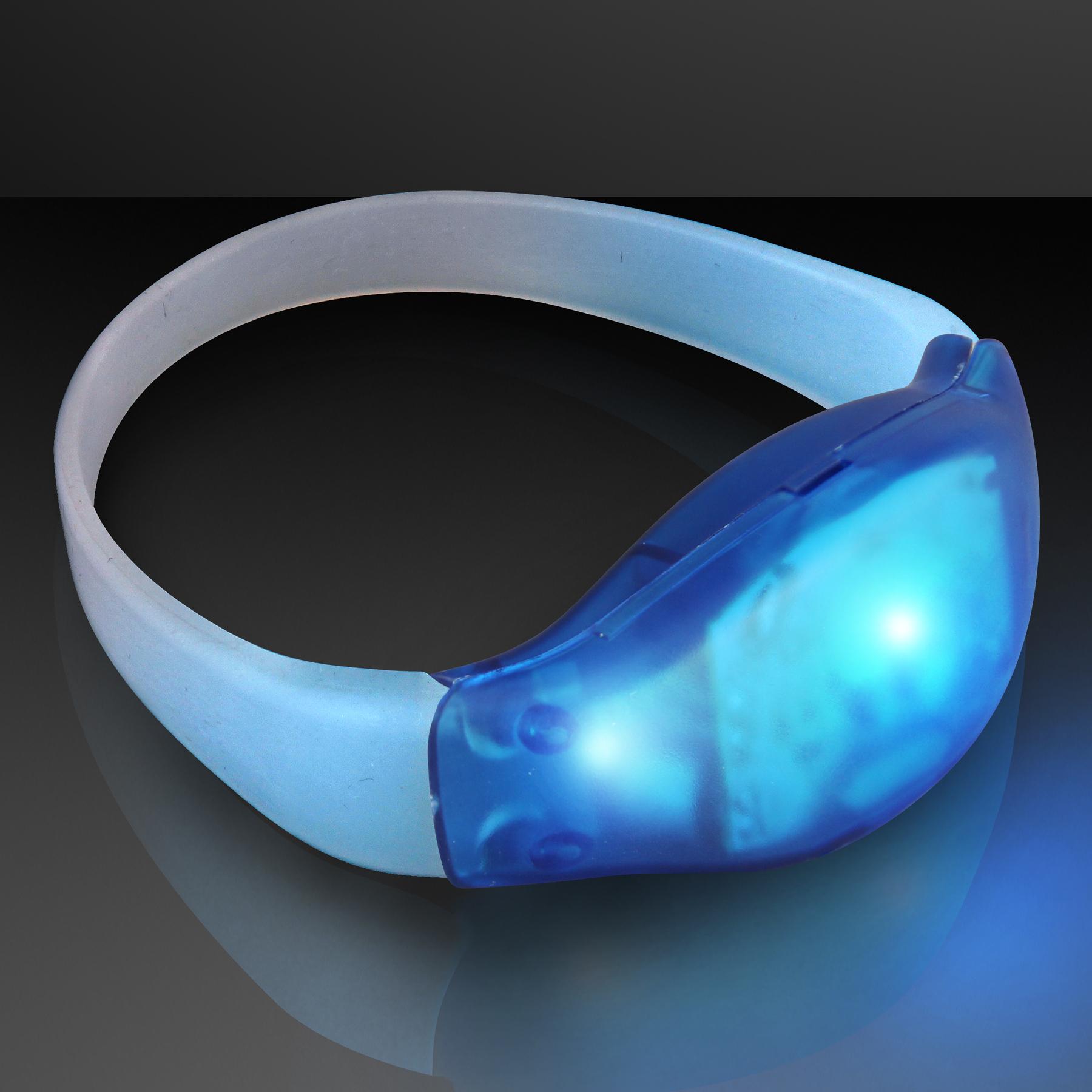 FlashingBlinkyLights Light Up Motion Activated LED Bracelet