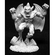 reaper miniatures gargoyle #02040 dark heaven legends unpainted metal rpg figure