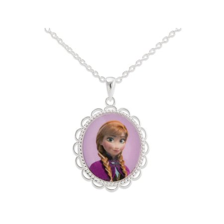 Disney Frozen Princess Anna Pendant With Frozen Gift Box.](Frozen Jewelry)