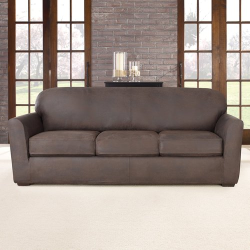 Sure Fit Ultimate Stretch Box Cushion Sofa Slipcover
