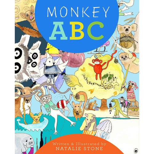 Monkey ABC: A Bird and a Monkey Sleeping in a Tree, Dreaming of Their ABC