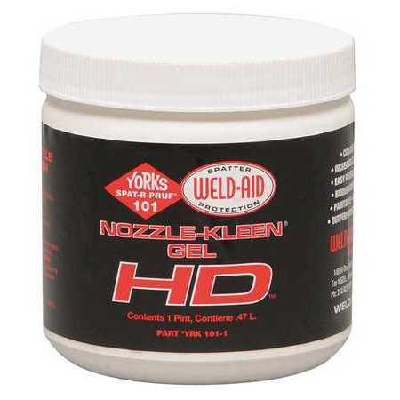 Weld Aid Yor 101-1 Heavy Duty Nozzle Dip Gel Pint](Gem Wand)