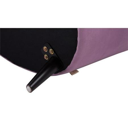 Lia Mid-Century Barrel Accent Chair Lavender - image 9 de 10