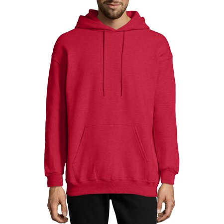 Hanes Men's Ultimate Cotton Heavyweight Fleece Hoodie with Front Pocket, Up to Size 3XL Classic Heavyweight Hooded Fleece