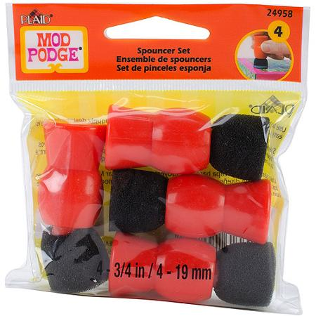Mod Podge 4-Piece Spouncer Applicator Set for Decoupage by Plaid