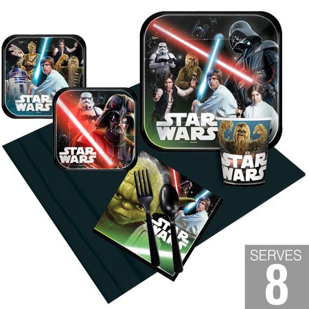Star Wars Classic Party Pack For - Star Wars Party Supplies Clearance