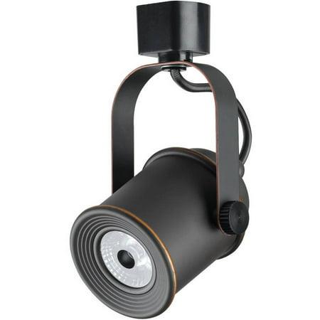 Elton Track Head (Duracell Black LED Dimmable Track Light Head)