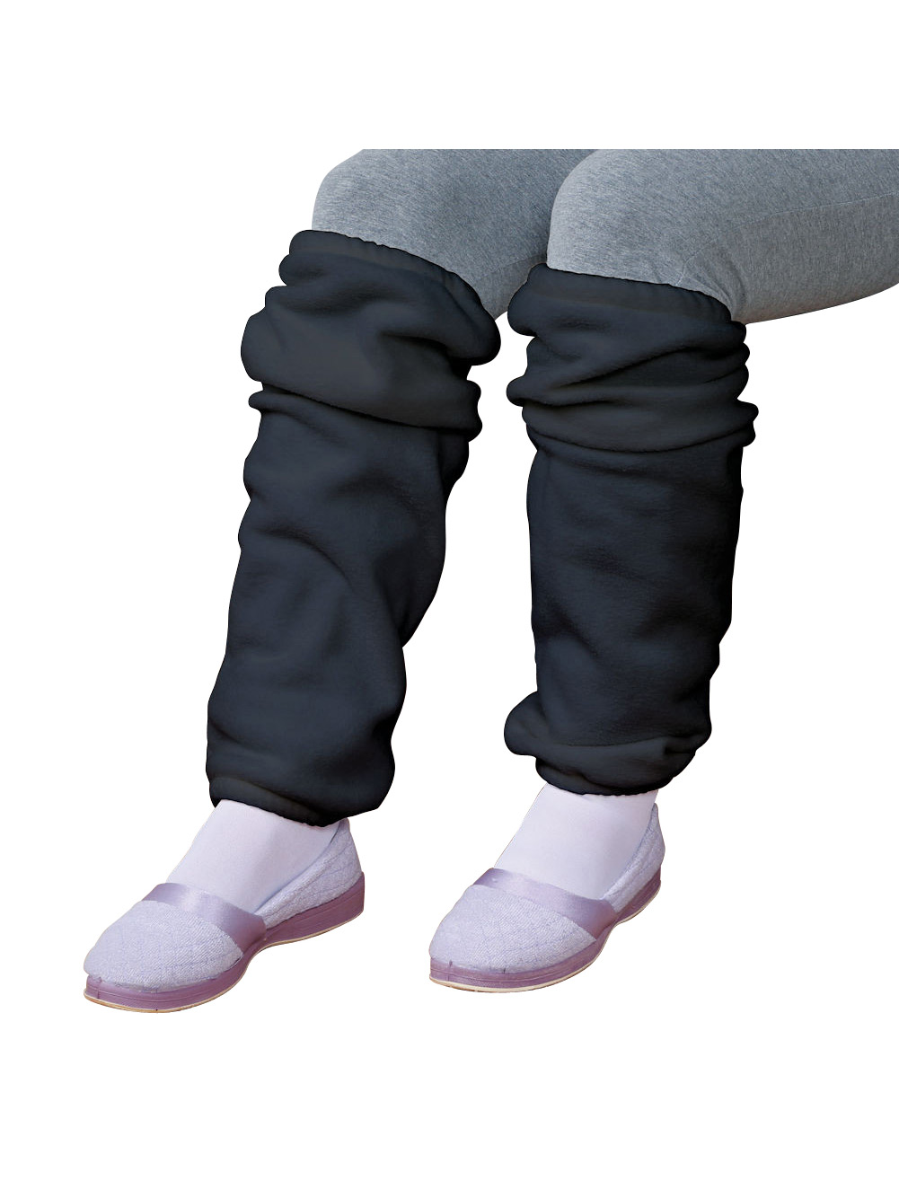 Women's Fleece Leg Warmers Queen