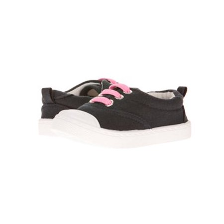 Skidders Baby Girls' Faux Lace Slip-On Casual Shoe