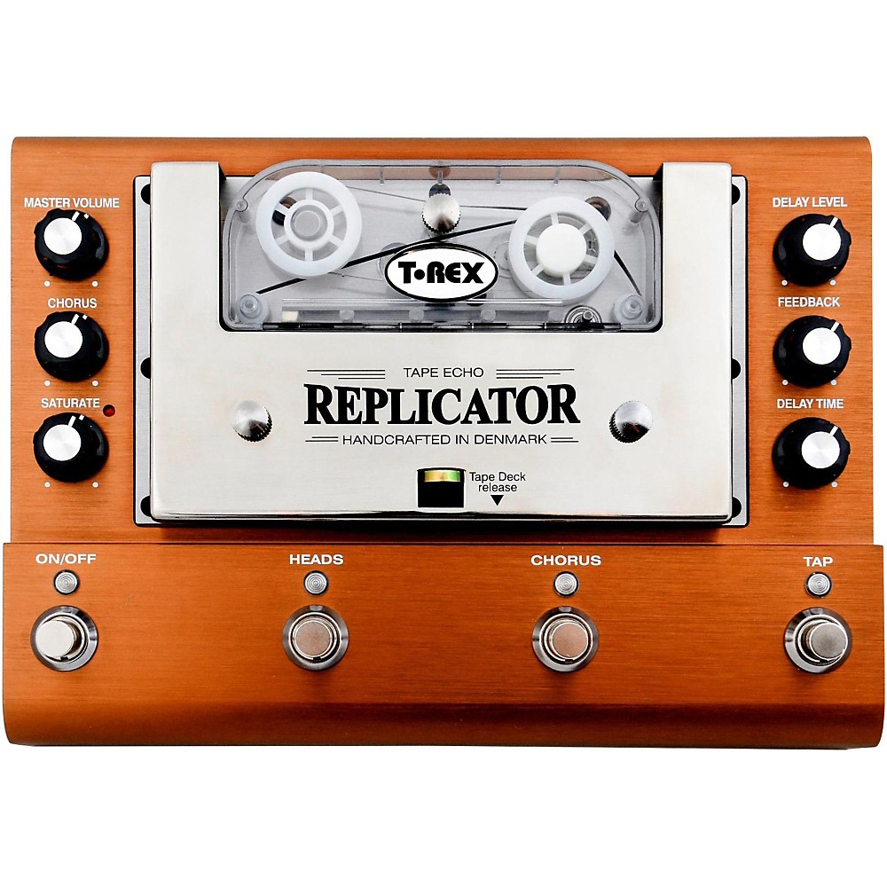 T-Rex Engineering Replicator Analog Tape Delay Guitar Effects Pedal by T-Rex Engineering