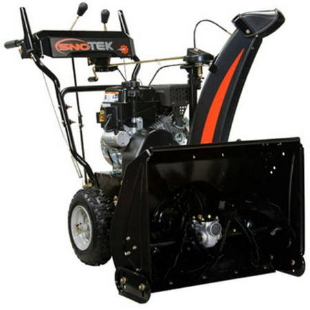 Sno Tek 24  2 Stage Electric Start Gas Snow Blower