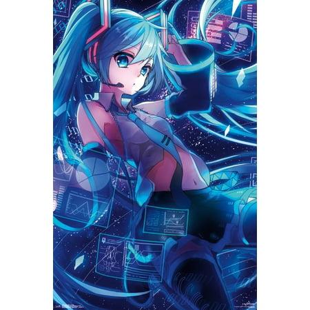 Hatsune Miku - Screens Poster Print