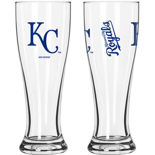 Boelter Brands MLB Kansas City Royals 2-Pack Gameday Pilsner Set