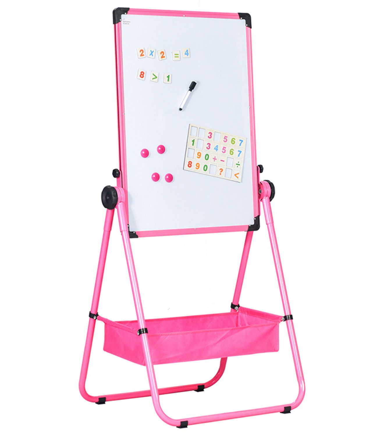 Easel Whiteboard U-stand Magnetic Dry Erase Board Office School Mark Board by
