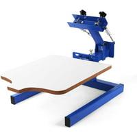 "VEVOR 17.7x21.7"" Screen Printing Machine 1 Color 1 Station Silk Screen Printing"