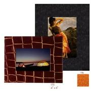 Raika RO 176 ORANGE 5in. x 7in. Wide Border Frame - Orange