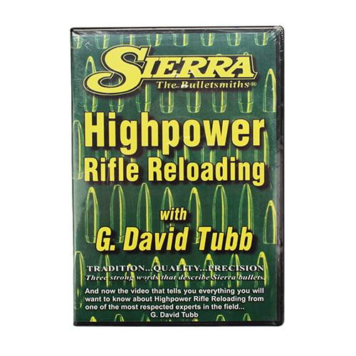 Advanced Rifle Reloading DVD by Sierra Bullets