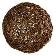 Decorative Ball in Light Brown (3 in. Dia.)