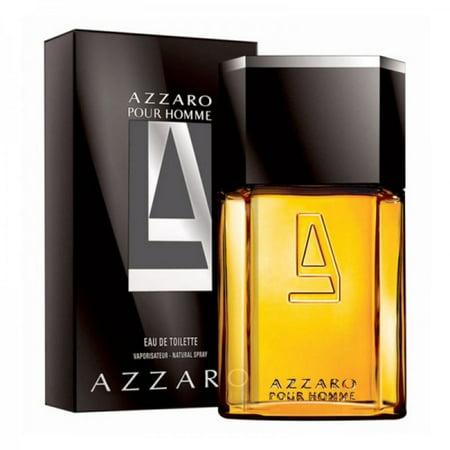 AZZARO POUR HOMME 3.4 oz EDT eau de toilette Men's Spray Cologne 3.3 NIB NEW