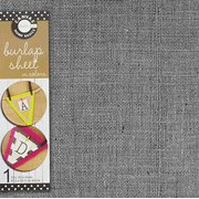 Canvas Unsewn Burlap Sheet Jute, 12-Inch by 12-Inch, Gray Multi-Colored