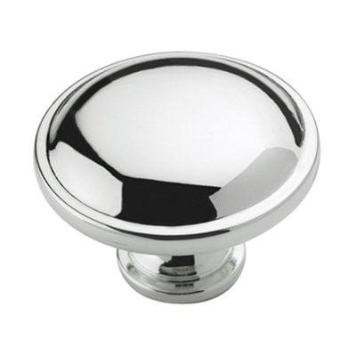 Allison Value 1-1/4 in (32 mm) Diameter Polished Chrome Cabinet (1 Polished Chrome Cabinet Knob)