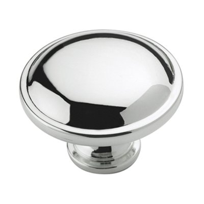 Allison Value 1-1/4 in (32 mm) Diameter Polished Chrome Cabinet Knob