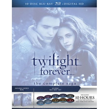Twilight Forever: The Complete Saga (Blu-ray) (Star Wars Complete Saga Blu Ray Theatrical Release)